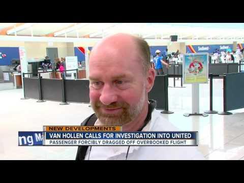 Maryland senator Chris Van Hollen calls for investigation into United Airlines flight