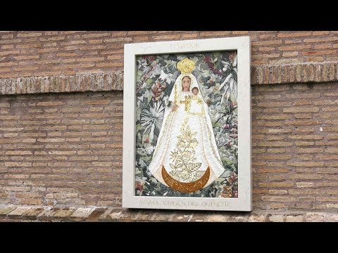 Vatican Gardens inaugurates Our Lady of Quinche image