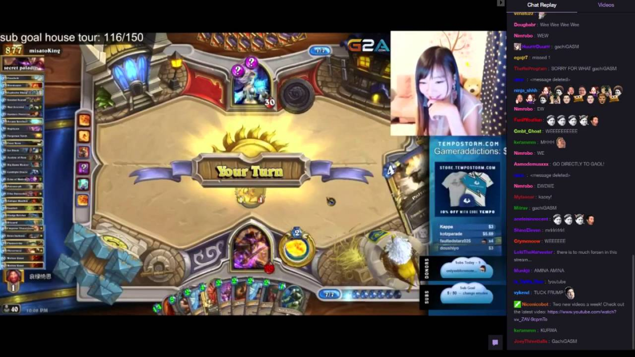 Eloise - Radio Kappa 9 reaction plus chat spam with 7000+ viewers on Twitch  - 8 April 2016