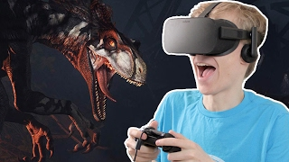 JURASSIC PARK IN VIRTUAL REALITY | Robinson: The Journey (Oculus Rift CV1 Gameplay) #4