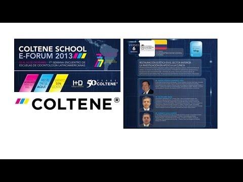 162 1er Coltene School E-Forum - Colombia - Restauración estética en el sector anterior