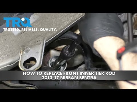 How to Replace Front Inner Tie Rod 2013-17 Nissan Sentra