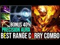 SF With Drow Precision Aura [Shadow Fiend] BEST RANGE CARRY COMBO 29Kills 7.19 | Dota 2 Highlights