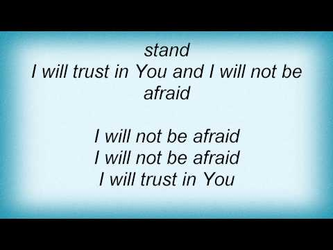 Jeremy Camp - Trust In You Lyrics