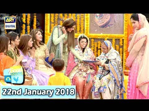 Good Morning Pakistan - 22nd January 2018 - ARY Digital Show