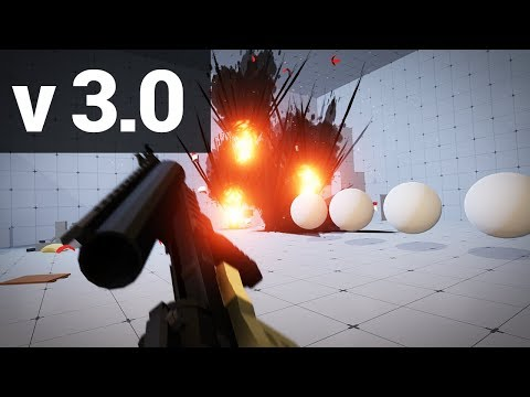 Low Poly FPS Pack 3.0 Trailer - Available On The Unity Asset Store