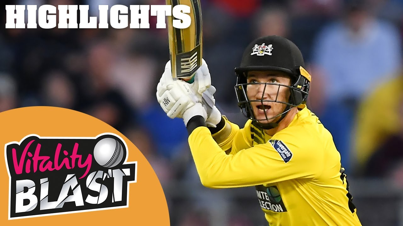 Gloucestershire v Hampshire | Bracey Hits Maiden 50 | Round 9 | Vitality Blast 2019 - Highlights