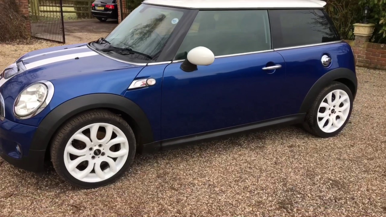2008 Mini Cooper S Blue White Alloys Chilli Pack Gorgeous Car Warranty Available