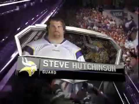 2010 NFL PLAYER OF THE YEAR AWARDS AS NARRATED BY BILL VOGEL  Steve Hutchinson - 76