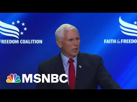 'Rock-Ribbed' Conservative Mike Pence Booed During Conference | MSNBC