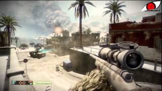 Battlefield: Bad Company 2 ● Live Com w/ Minimoi066HD ● Sniper [PS3 FR HD]