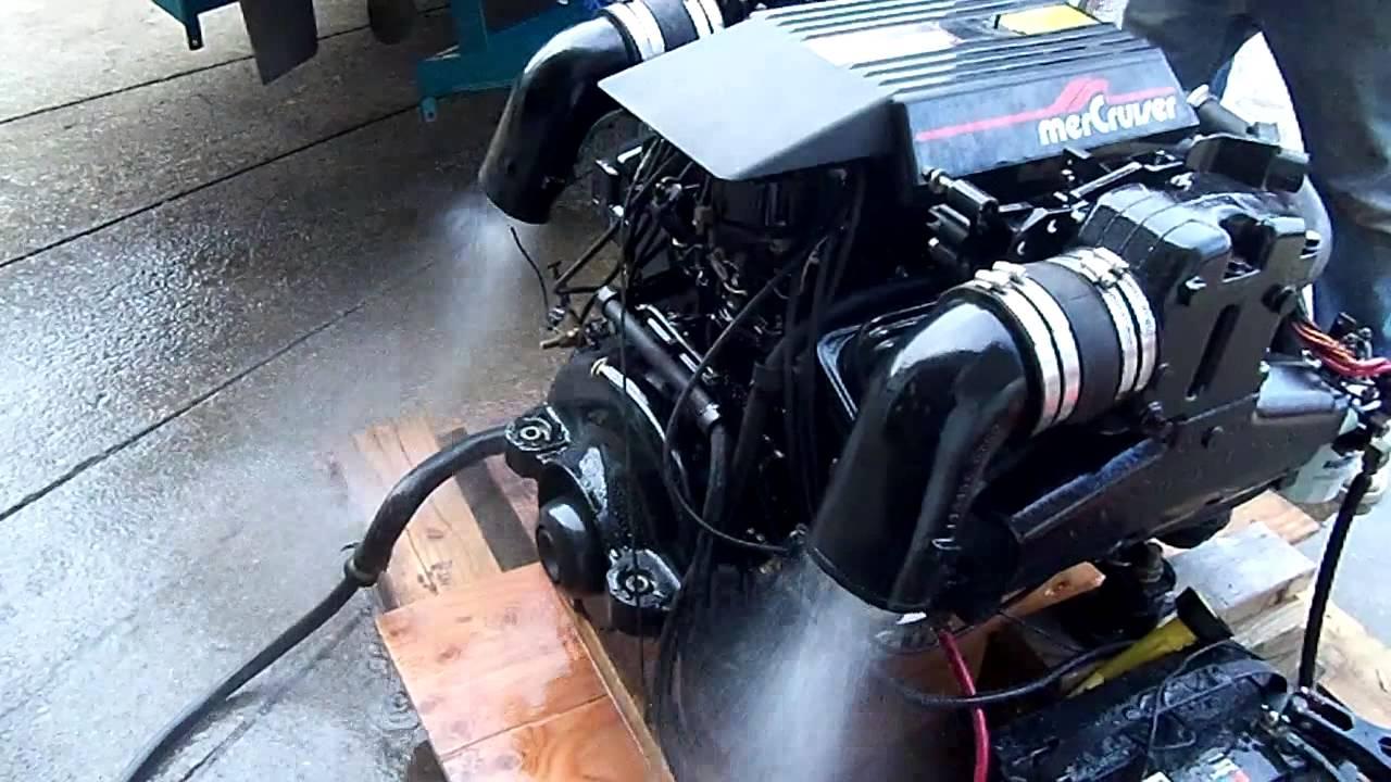 Mercruiser 5 7 Wiring Diagram Muscular System Worksheet 7l V8 Marine Engine - Youtube
