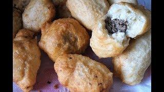 Орские ливерные пирожки из жидкого теста/тесто на пирожки на воде