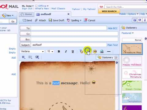 Yahoo Email Raw Basics, for Beginners
