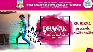 Dhanak 2017-2018   Rk birru solo performence   Oswal school and college   STEPPERS VR1   Bhiwandi  