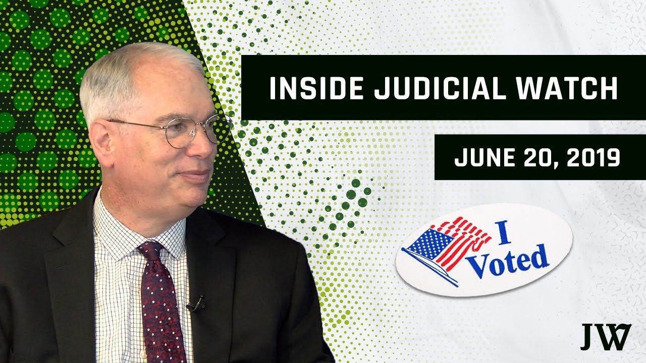 Inside Judicial Watch: California Begins Massive Voter Roll Clean-Up!