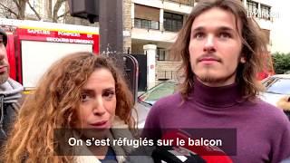 Incendie mortel à Paris : des rescapés racontent