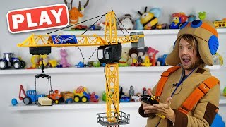КУКУТИКИ PLAY - РАСПАКОВКА - Строительный кран - Поиграйка с Пилотом Винтиком