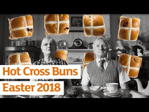 Easter Your Way Hot Cross Buns   Sainsbury's Ad   Easter 2018