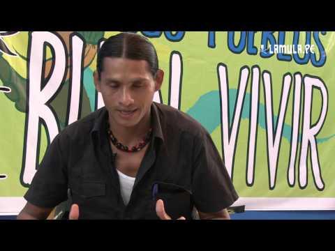 Juan Fachin: Defendemos nuestras tierras de  Occidental Petroleum y Pluspletrol
