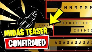 MIDAS CONFIRMED & CATTUS IS RETURNING 9 LIVES TEASER (Fortnite Season 2 Chapter 2 Teaser EXPLAINED)