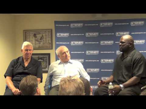 Lawrence Taylor and Bill Parcells Interview with Brandon Steiner ...