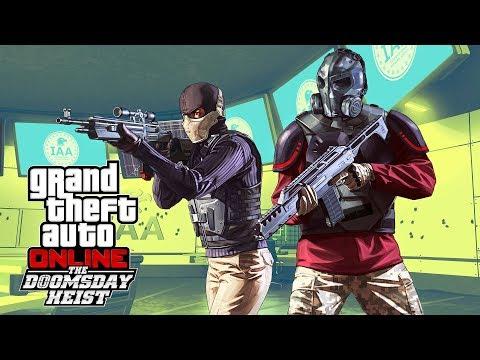 GTA 5  THE DOOMSDAY HEIST!! GTA 5 Online Heists