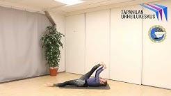 Tapanilan Urheilukeskus - Tapanilan Erän ryhmäliikuntatunteja livestriimin välityksellä, ma 18.5.