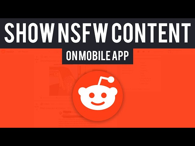 How To View Nsfw Content On Reddit App Youtube