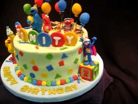 Sesame Street Cake YouTube
