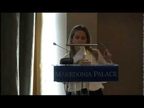 Ομιλία κας Βάλιας Αρανίτου, Διευθύντριας ΙNEMY, Επίκουρη Καθηγήτρια Πανεπιστημίου Κρήτης
