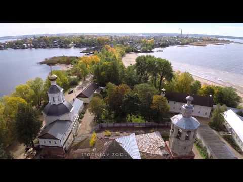 Город Осташков (Тверская область): полет на квадрокоптере