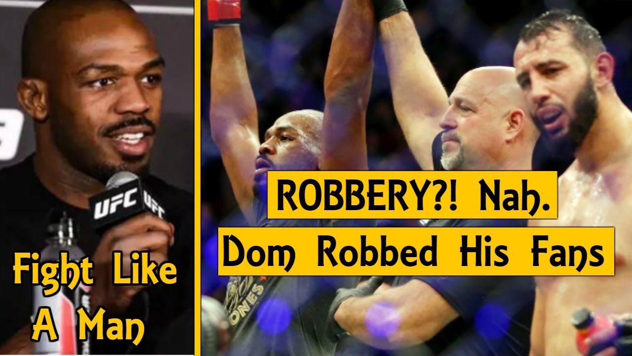 Jon Jones Fires Back At Dominick Reyes, Haters Calling His UFC 247 Win A Robbery, Open to Rematch