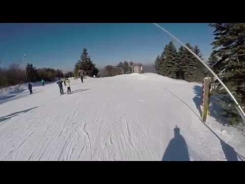 Camelback Mountain Skiing - All The Black Diamonds (Includes