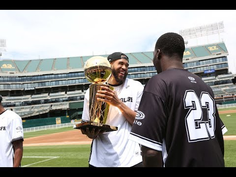 Warriors on the Diamond in Support of JaVale's #JUGLIFE Foundation