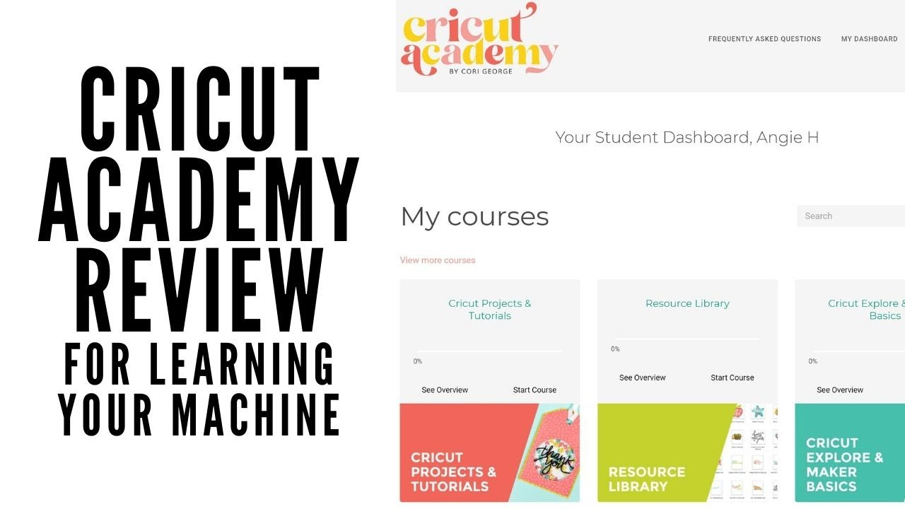 Review of Cricut Academy: Cricut Classes to Learn Your Machine