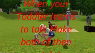 How to Make the Toddler Glitch on the sims 3