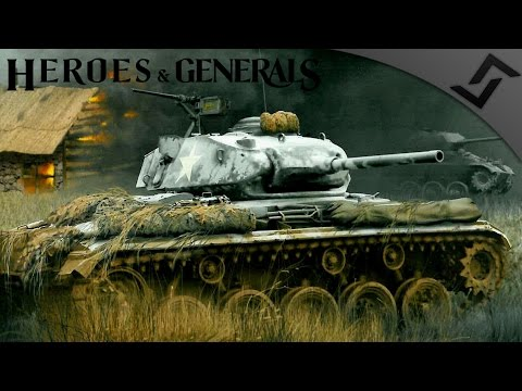 Anti Partisan Patrol M24 Chaffee - Heroes and Generals - US Tanker Gameplay