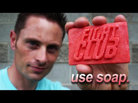 Thumbnail: Fight Club Soap! (Bacon * Drain Cleaner * Soap)