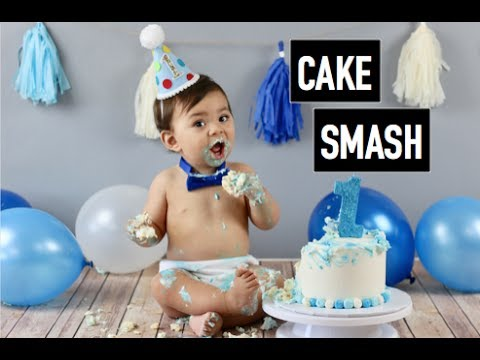 FIRST BIRTHDAY CAKE SMASH | BEHIND THE SCENES