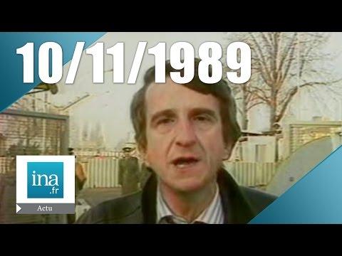 20h Antenne 2 du 10 novembre 1989 - Chute du Mur de Berlin | Archive INA