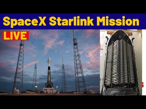 SpaceX 60 Starlink Satellite Launch Mission LIVE