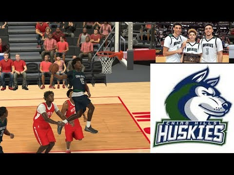 #1 SF in the nation (my player) chino hills high school. Crazy bounce. Ballislife nba 2k17