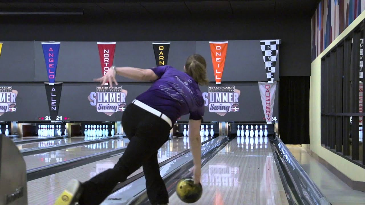 Xtra Slow Motion Kelly Kulick S Bowling Release Youtube