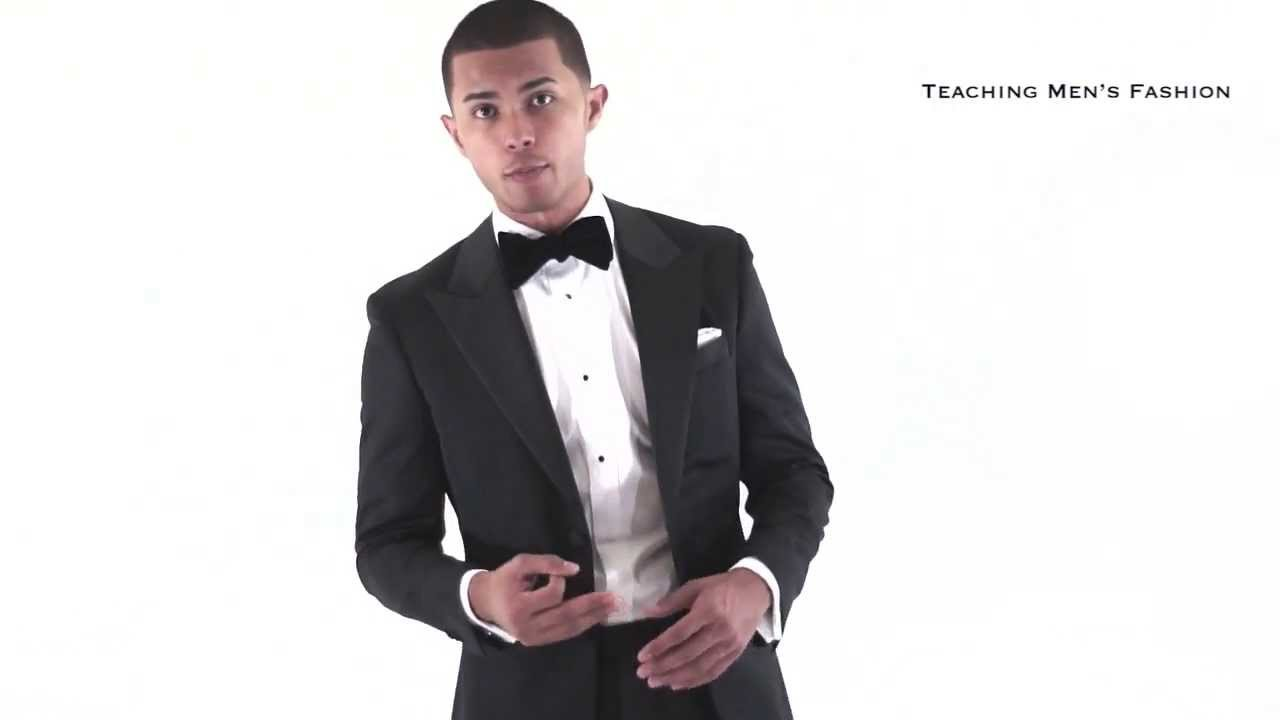 How to Wear a Tuxedo (What to wear to a Black Tie Event?) - YouTube
