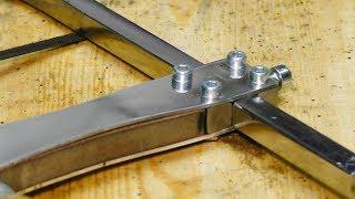 Ювелирный Лобзик из металлолома. Сделай и себе этот невероятно крутой инструмент