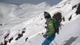 2017年5月4日大雪山中岳キャンプ地~熊ヶ岳msc