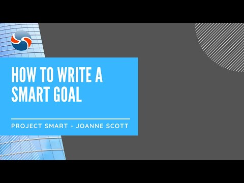 How to Write a Smart Goal