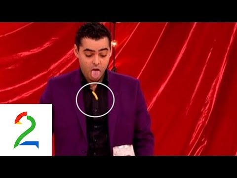 Magician Magicurty wows the judges in Norway's Got Talent