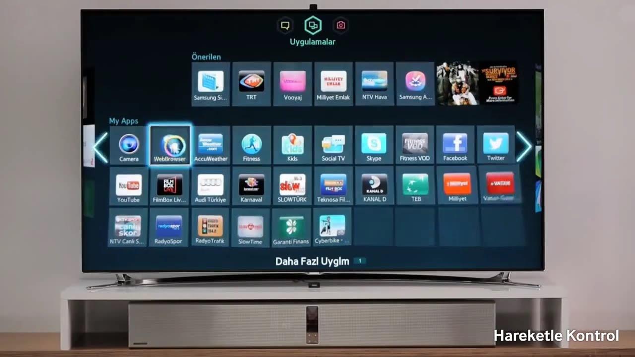 samsung smart tv n nceleme videosu youtube. Black Bedroom Furniture Sets. Home Design Ideas